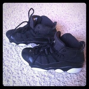 Jordan 6 rings boy basketball shoes/sneakers